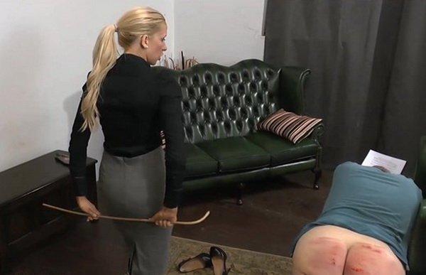Miss Kenworthy Thrashes Naughty Prefect Femdom Spanking Video