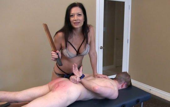 Apologise, females who spank free clips