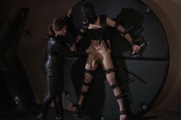 Bondage leather free