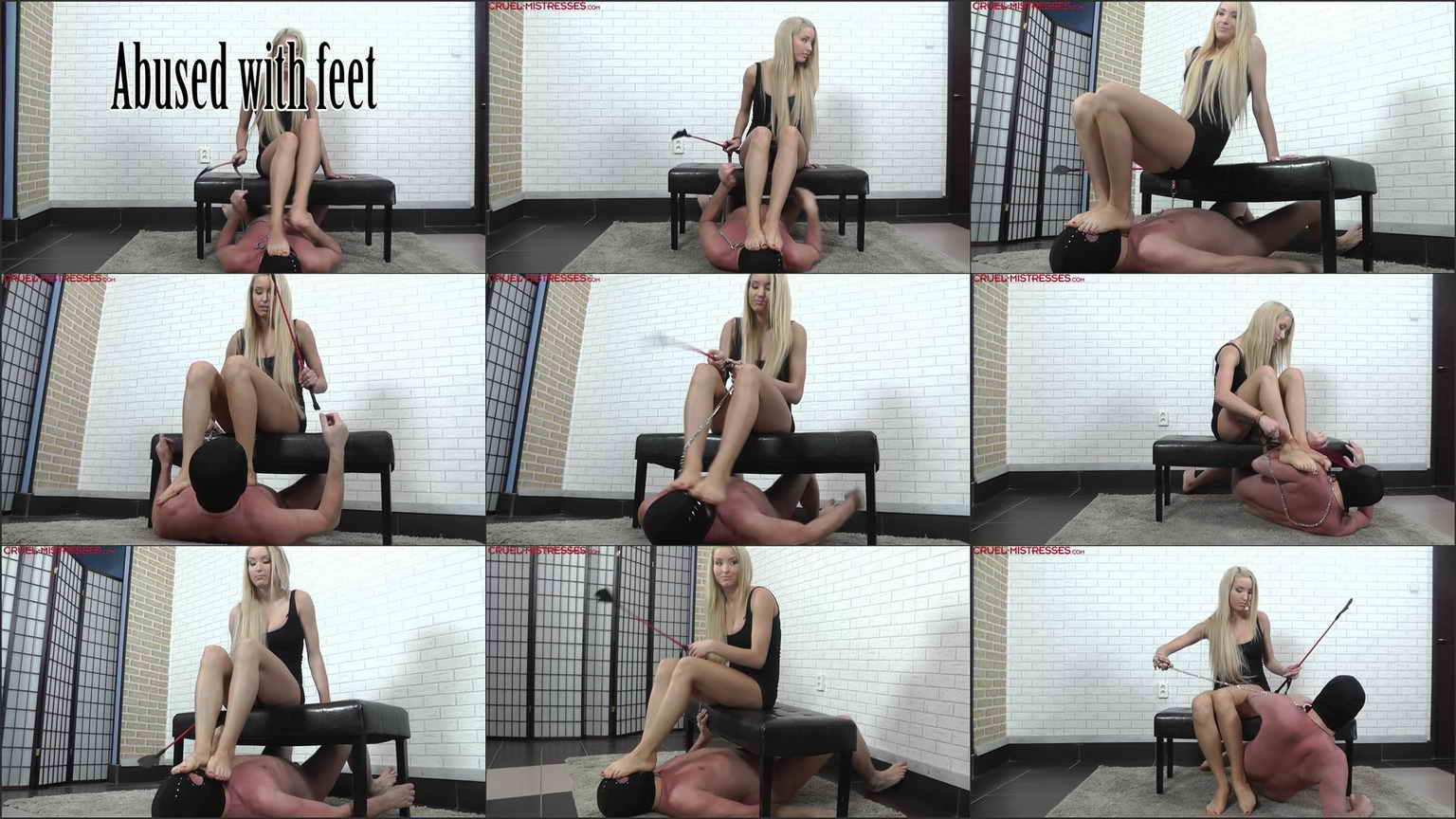 Mistress Ariel Barefoot Abused With Feet at Feet & Boots ...