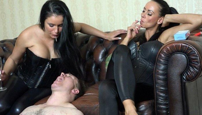 Cruel German Mistress Lady Chantal And Mistress Medina Human