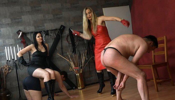 Miss Cassandra and Nemesis - German FemDom Mistress, The Balance Game Of Pain