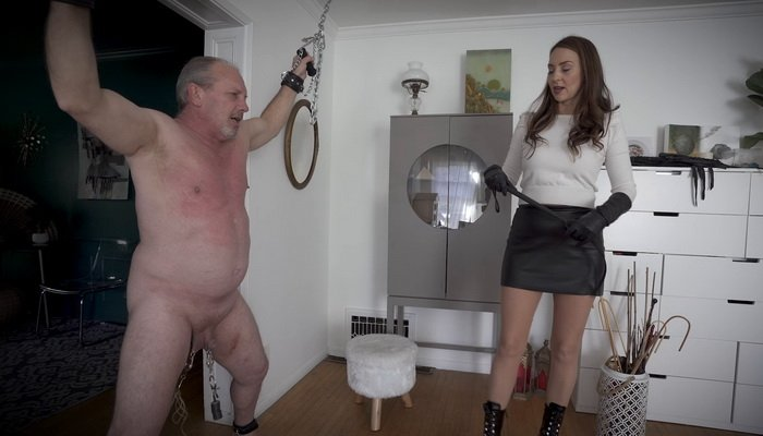 CBT, Flogging and Whipping My Pain Slut - Stella Liberty Femdom Video