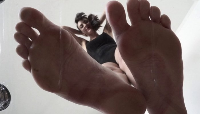 Sarah Banks Foot Fetish