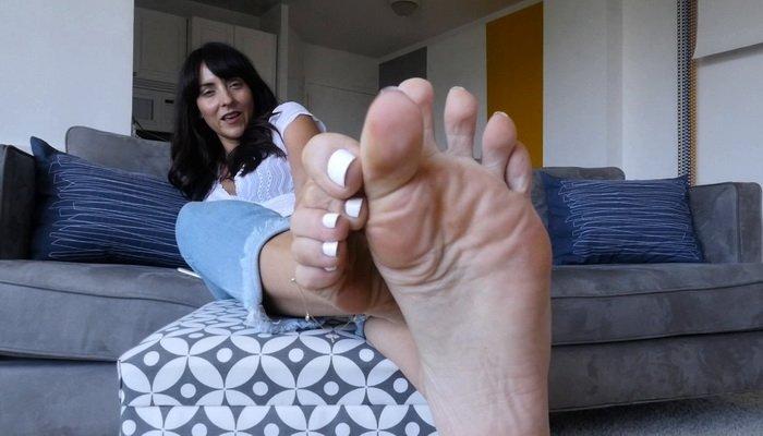 Moms Foot Domination Video