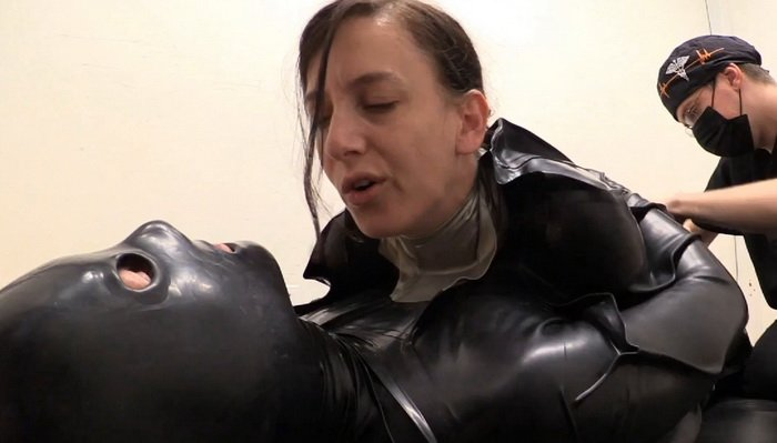 Rubber Bondage, Two Peas in a Pod - Elise Graves, Dart_Tech and J at Lezdom  - Download or watch online Mistress femdom video