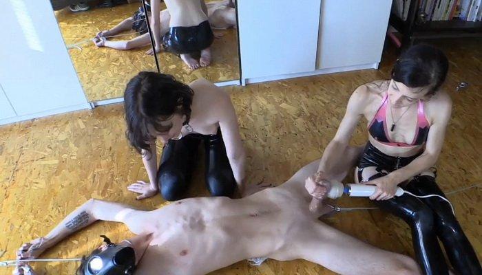 Enforced male orgasm