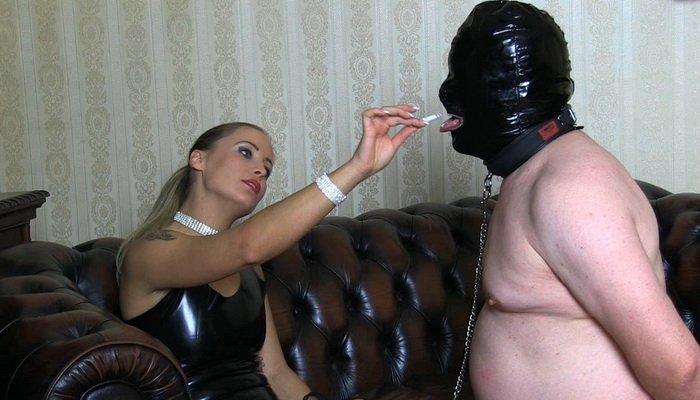 Femdom Smoking Mistress