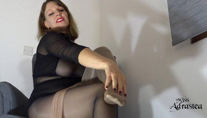 Pantyhose Stockings Pov Fetish Try Not To Cum To My Pantyhose