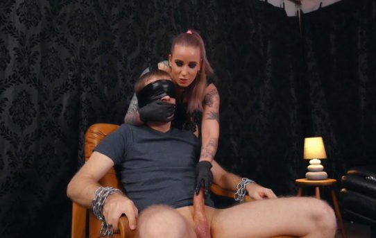 Apologise, blindfolded Sexy domination commit
