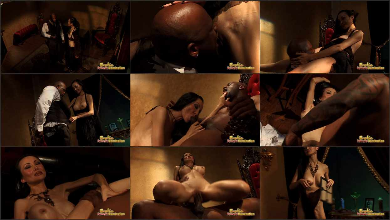 Asian Doninatrix Porn chinese dominatrix gets black man to fully submit to her