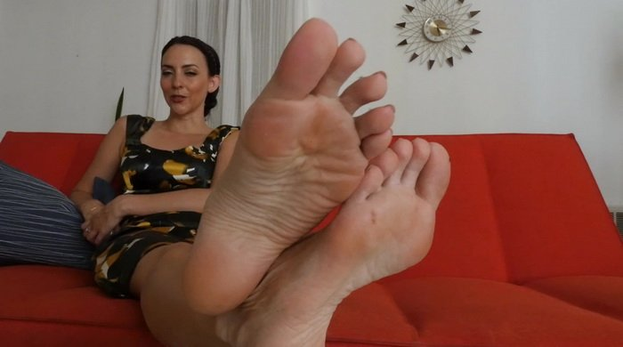 Leg And Foot Tease
