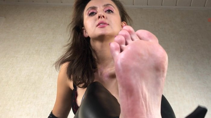 Enjoy My Feet Slave!